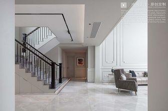 豪华型140平米复式美式风格楼梯间图片