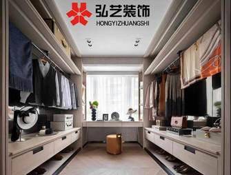 140平米三室两厅港式风格衣帽间装修效果图