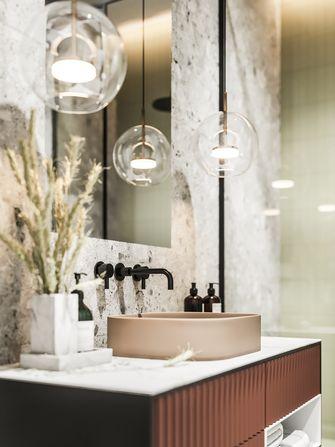 经济型30平米超小户型轻奢风格卫生间装修案例