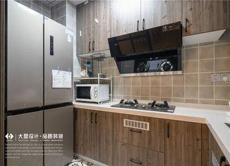 15-20万110平米三室一厅现代简约风格厨房欣赏图