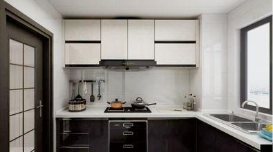 5-10万90平米现代简约风格厨房图片大全