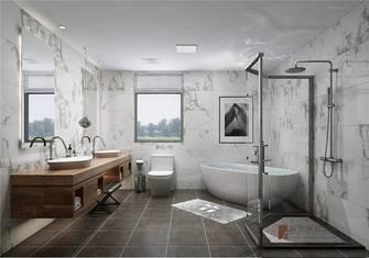 豪华型140平米复式现代简约风格卫生间设计图