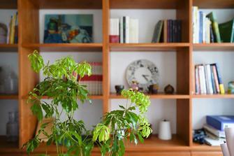 富裕型70平米日式风格书房效果图