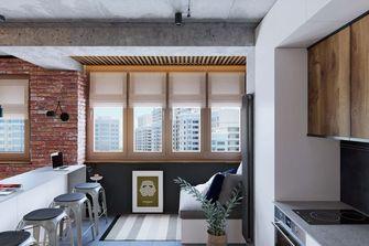 经济型60平米公寓工业风风格餐厅欣赏图