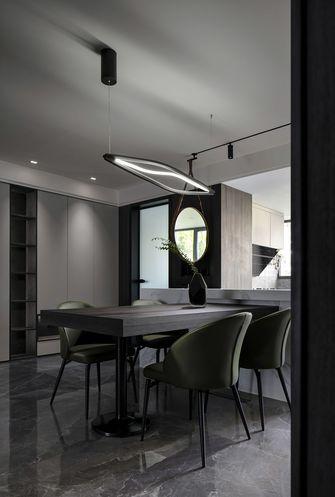 富裕型140平米三室两厅现代简约风格餐厅设计图