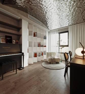 豪华型140平米四室两厅混搭风格书房设计图