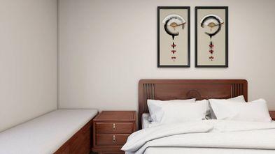 经济型60平米一室一厅中式风格卧室装修图片大全