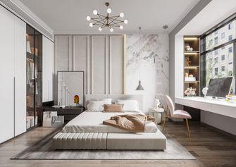 豪华型140平米三室两厅法式风格卧室装修图片大全