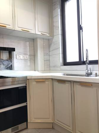 20万以上120平米三室两厅美式风格厨房欣赏图