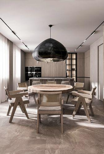 130平米四现代简约风格餐厅图片大全