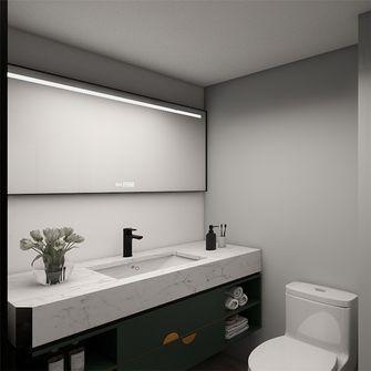 5-10万50平米公寓北欧风格卫生间欣赏图