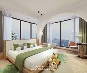豪华型140平米公装风格卧室装修案例