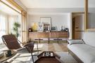 10-15万120平米三室两厅现代简约风格客厅图
