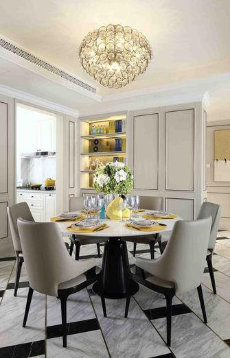 经济型130平米四室两厅法式风格餐厅效果图