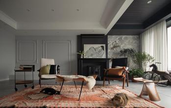 富裕型110平米三室两厅新古典风格客厅装修效果图