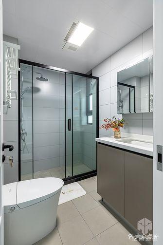 10-15万110平米三室一厅现代简约风格卫生间图