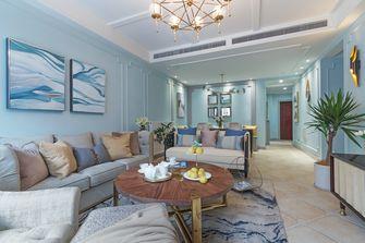 富裕型110平米三室两厅欧式风格客厅设计图