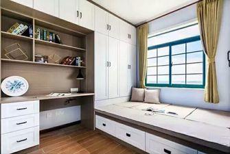 20万以上110平米三室两厅北欧风格书房图片