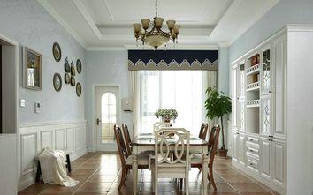 富裕型120平米三室两厅地中海风格餐厅装修案例