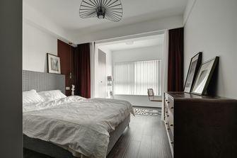 120平米三室一厅北欧风格卧室欣赏图