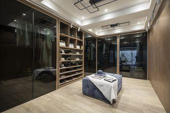 富裕型110平米三室两厅轻奢风格衣帽间欣赏图