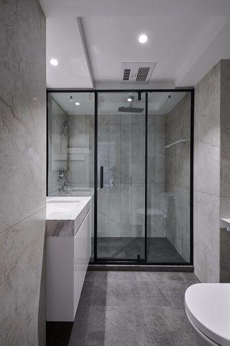 富裕型110平米三室一厅现代简约风格卫生间设计图