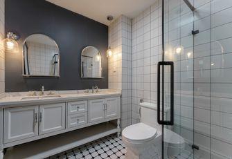 130平米三室三厅法式风格卫生间装修图片大全