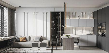 10-15万40平米小户型港式风格客厅装修图片大全