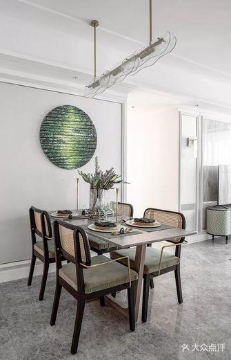 豪华型110平米三法式风格餐厅设计图