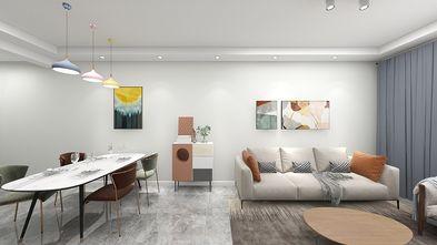 70平米现代简约风格客厅装修案例