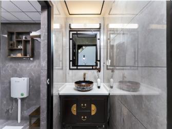 5-10万50平米一居室中式风格卫生间欣赏图