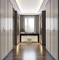 140平米四室两厅中式风格衣帽间图