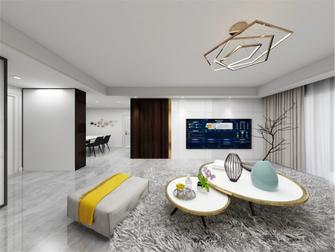 经济型100平米三室两厅轻奢风格客厅图片大全
