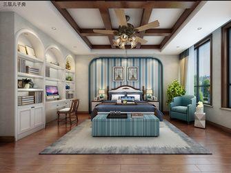 豪华型140平米别墅地中海风格卧室设计图