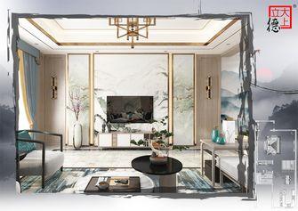 豪华型140平米别墅中式风格客厅装修案例