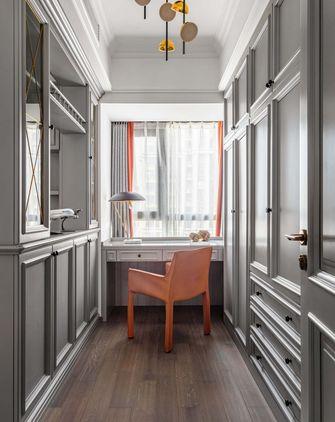 富裕型130平米三室两厅美式风格衣帽间装修图片大全