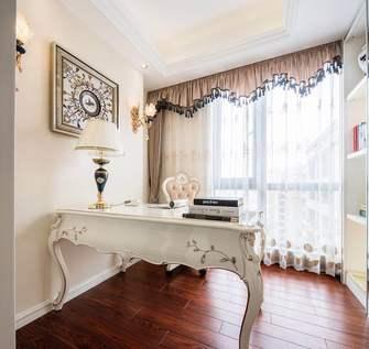 10-15万120平米三室一厅法式风格书房装修案例