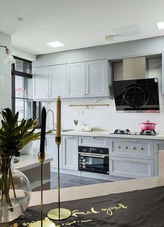 富裕型60平米一室两厅美式风格厨房设计图