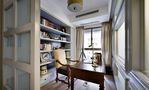 豪华型140平米三室三厅美式风格书房装修案例