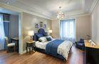 豪华型120平米三室两厅法式风格卧室效果图