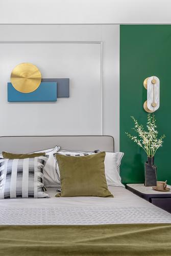 经济型70平米一居室轻奢风格卧室装修图片大全