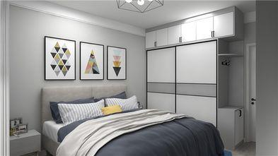 5-10万60平米北欧风格卧室效果图