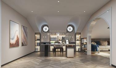 豪华型140平米复式现代简约风格阁楼图