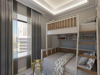 豪华型100平米三室两厅欧式风格青少年房装修图片大全