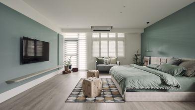 豪华型120平米三室两厅田园风格卧室图片