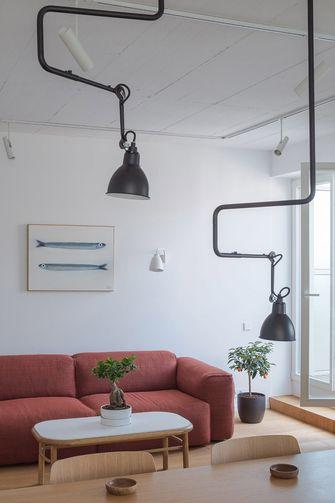 经济型50平米一室一厅现代简约风格客厅图