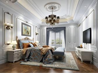 20万以上140平米别墅英伦风格卧室装修案例