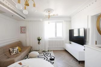 3万以下40平米小户型轻奢风格客厅图片大全