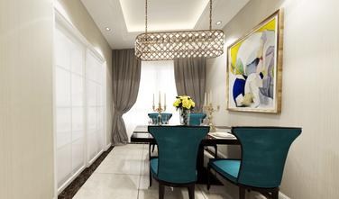 20万以上110平米三欧式风格餐厅装修图片大全