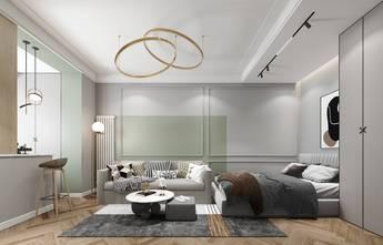 5-10万50平米轻奢风格卧室图